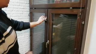 видео Конструкция противопожарных окон