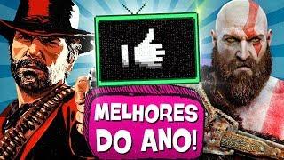 5 MELHORES JOGOS de 2018! 🏆 🎖- PIPOCANDO GAMES