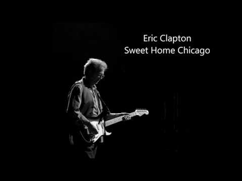 Eric Clapton - Sweet Home Chicago (Guitar Backing Track)