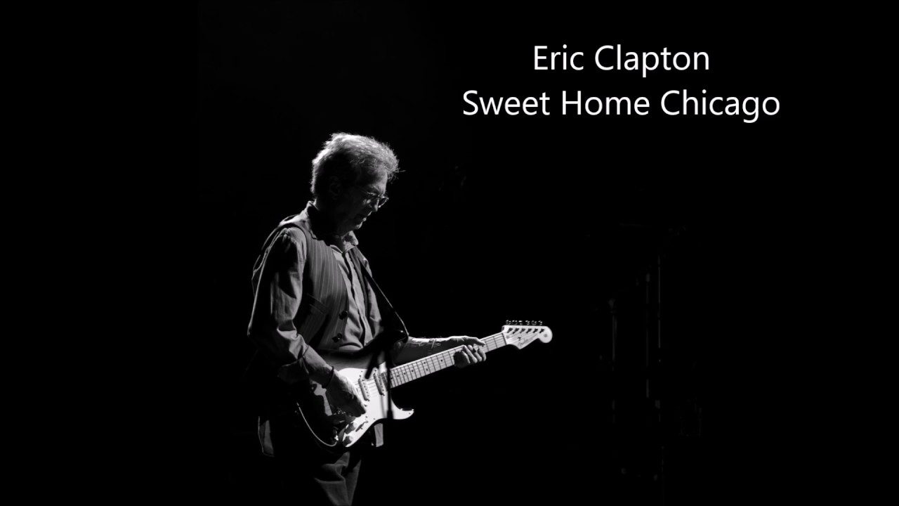 Eric Clapton Sweet Home Chicago Guitar Backing Track Youtube