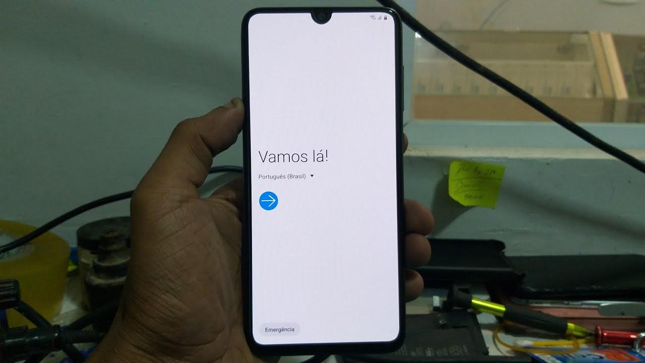 EXCLUSIVO: Remover conta google A50, A70 , A80 Android 10 Quando não aparece mais o cadeado sem PC