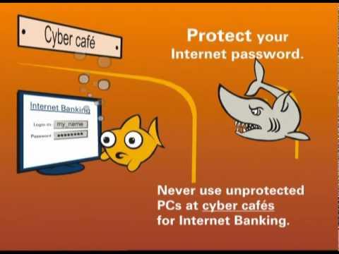 Safe Banking tip - Cyber Cafe