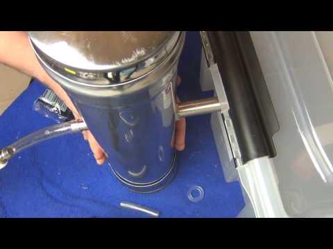 Изготовление трубы дымохода,воздуховода из жести оцинкованной своими руками.