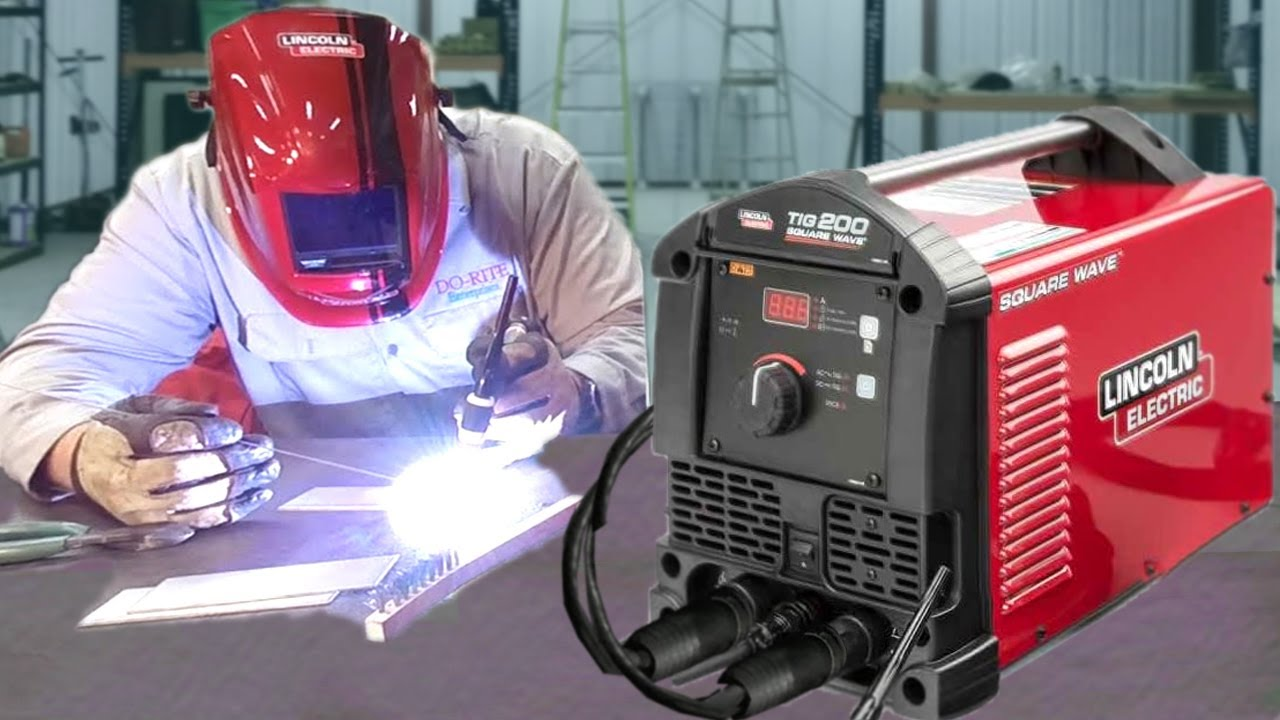 Lincoln Electric Square Wave Tig 200 Welding Machine
