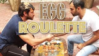 تحدي البيض مع شريف فايد Egg roulette challenge with Sherif Fayed #لؤي_ساهي