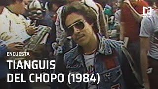 Encuesta en Tianguis Cultural del Chopo (1984)