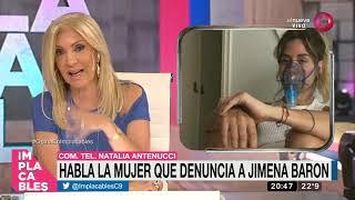 Habla la mujer que denuncia a Jimena Baron