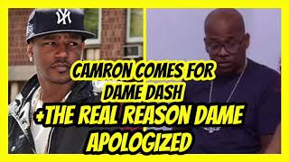 Camron Disses Dame Dash (After He Says Sorry SMH !!!)