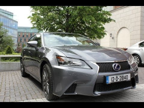 Lexus GS450H Irish Launch first drive