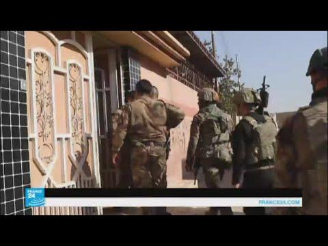 كيف يتم البحث عن عناصر مشبوهة في غرب الموصل؟