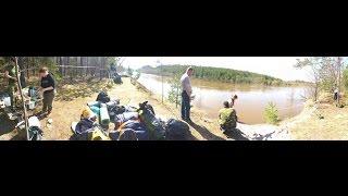 Сплав по реке Малая Кокшага апрель 2017 года