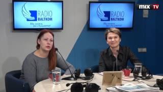 "Светлана Рышкова и Ирина Ернева в программе""Утро на Балткоме"" #MIXTV"
