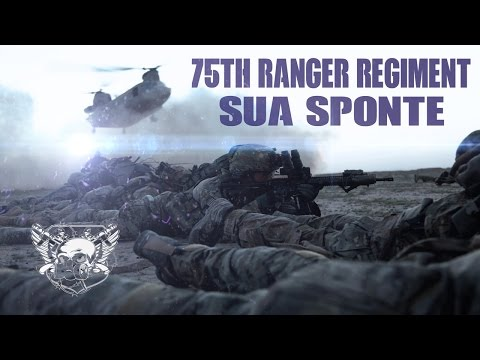 "75th Ranger Regiment // ""Sua Sponte"""