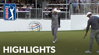 Tiger Woods vs. Lucas Bjerregaard highlights from WGC-Dell Match Play 2019