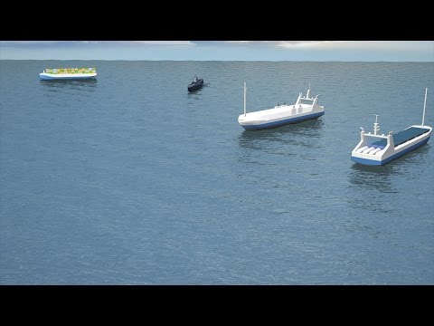 Rolls-Royce develops fleet of autonomous ships