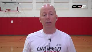 Coach Cronin Discusses Jacob Evans III Being Selected in the 2018 NBA Draft