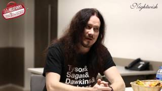 Tuomas Holopainen (Nightwish) - L'interview par La Grosse Radio Metal