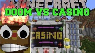 BOX OF DOOM VS CASINO ISLAND - Minecraft Mods Vs Maps - (Boxes & Guns)