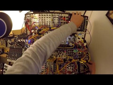 One Hour Live Modular Acid Techno System Practice Jam