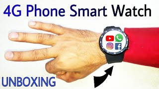 Zeblaze THOR 4, Smart Watch Phone,  Rs 10000, Unboxing Review, Full Tutorial, Phone watch, Jio 4G
