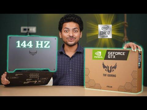 Asus TUF Gaming Laptop F15 Unboxing | Core i7 10th Gen | 144 Hz Display 🔥