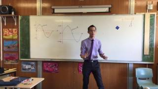 Trigonometric Graphs with Multiple Modifications (2 of 2: Amplitude & Vertical Shift)