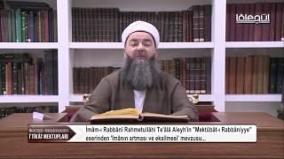 Mektûbât-ı Rabbâniyye'den İ'tikâd Mektupları 41.Bölüm 26 Ocak 2017 Lâlegül TV