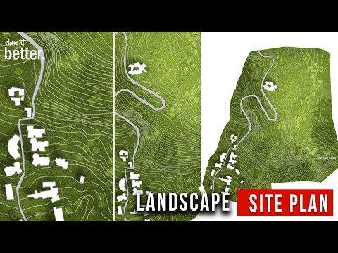 Landscape Architecture Site Plan