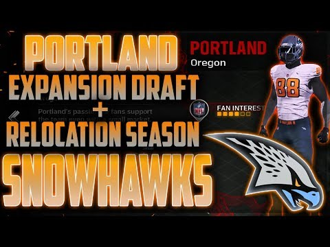 EXPANSION DRAFT + COMPLETE Opening Season | Portland Snowhawks Relocation Franchise Mode