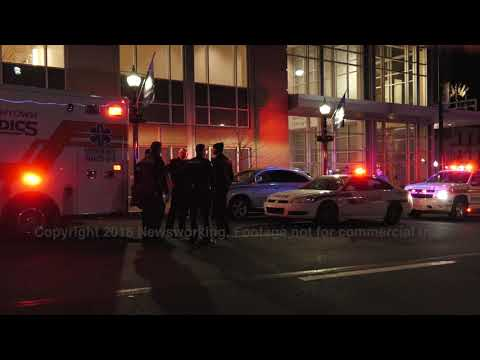 RAW Footage: scene from huge fight at the PPL Center in Allentown, PA 03/10/18