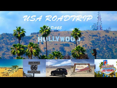 USA Road Trip West Coast (Los Angeles-Las Vegas) GoPro