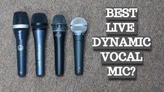 BLIND DYNAMIC MICROPHONE SHOOTOUT: Shure SM58 vs AKG D5 vs Sennheiser e835 vs Blue Encore 100i