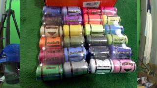 KINGSO 24 Assorted Colors Polyester Sewing Thread Spool 1000 Yards Each 19.99