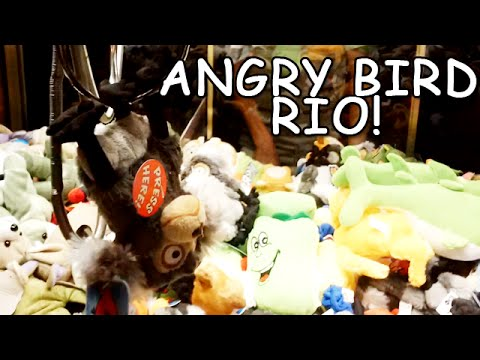 Angry Bird Rio - Journey to the Claw Machine​​​ | ​​​