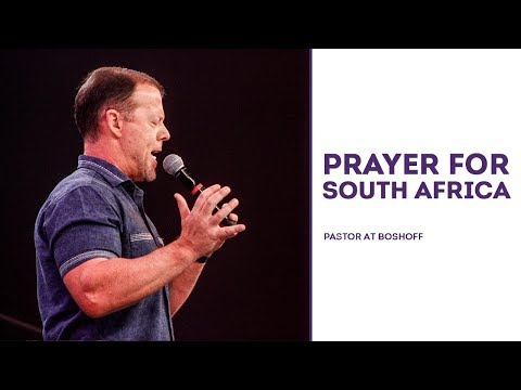 Prayer For South Africa | Pastor At Boshoff | 5 November 2017 PM