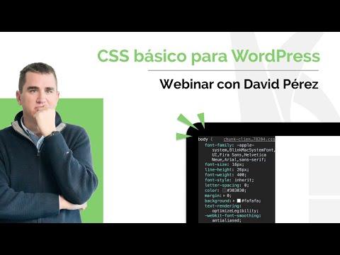 Curso de CSS básico para WordPress