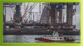 Керченский мост Самые последние новости строительство моста!