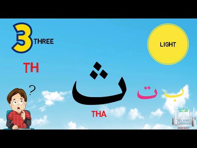 Arabic Alphabet Series - The Letter Tha - Lesson 4