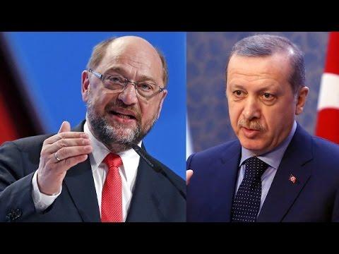 Harte Worte von Erdogan an Martin Schulz und die EU! #erdogan #schulz #eu #todesstrafe #türkei