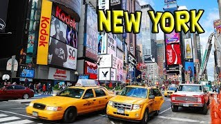 Walking in New York City - U.S.A. & Canada ep4 - Travel video vlog calatorii tourism