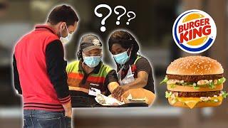Ramener un Big Mac à Burger King - Défi Prank - Les Inachevés