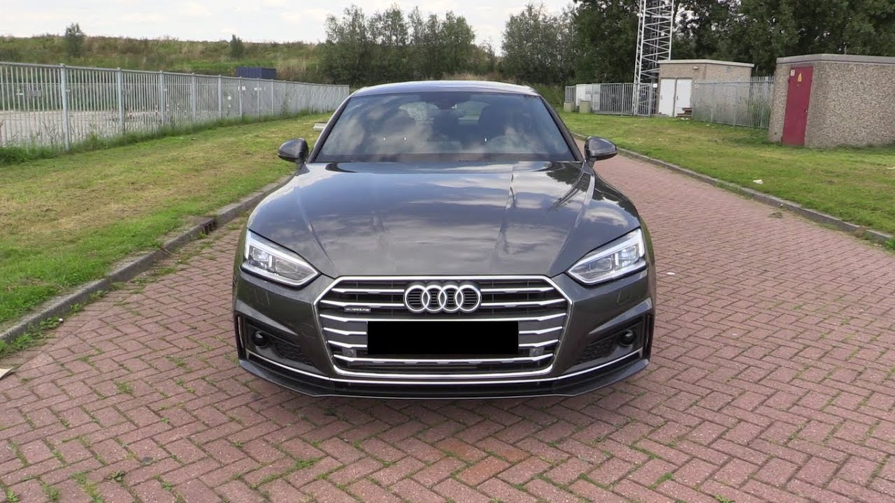 Yeni Audi A5 Sportback S Line Trde Ilk Kez Youtube