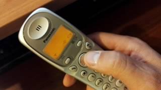 Belgilangan raqamlar avtomatik ko'rsatish imkonini Panasonic cordless telefonlar raqam aniqlagichi