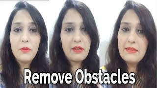 How to Remove Obstacles From Life   Money   Business or Job   Divyaa Pandit Live Video