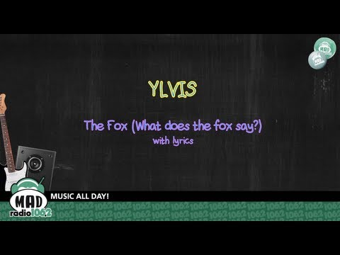 Ylvis - The Fox (What does the fox say?) - with lyrics ...