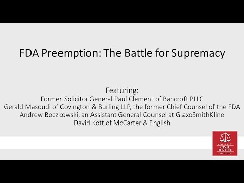 FDA Preemption: The Battle for Supremacy