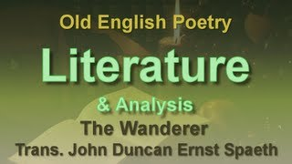 Old English Poem: The Wanderer