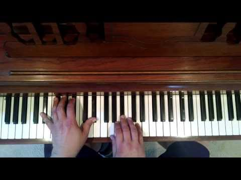 Piano Lesson:Ma7 chord OneChorus Linepart 1