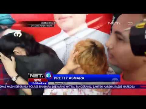 Pretty Asmara Diduga Edarkan Narkoba - NET10