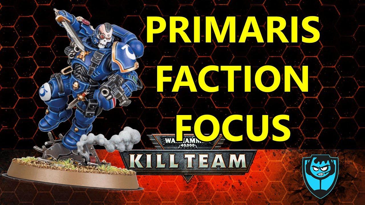 Primaris Only Faction Focus